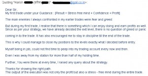 TheOptionCourse.com - Testimonial by Harish