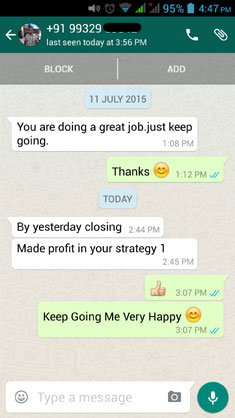 TheOptionCourse.com - WhatsApp Testimonial