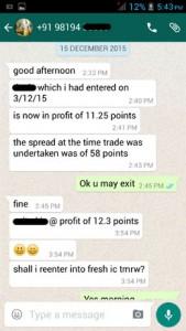 WhatsApp Testimonial December 2015