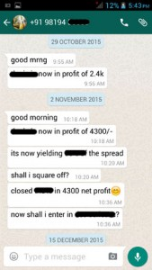 WhatsApp Testimonial October 2015
