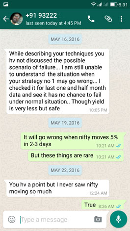 WhatsApp Testimonial 16 May 2016
