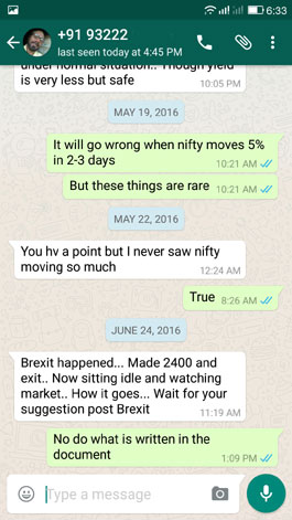 After Brexit Day - WhatsApp Testimonial 24 June 2016