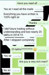 25 Lakh Loss Trading Options